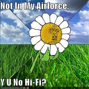 Not In My Airforce,  Y U No Hi-Fi?