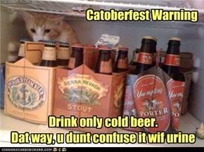 Catoberfest Warning