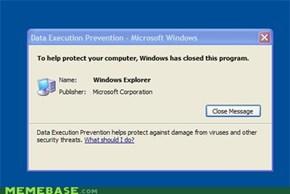 It's things like this, Microsoft.....