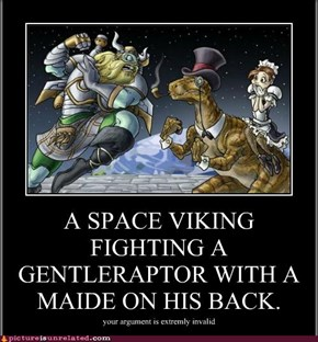 Space viking vs Gentelraptor
