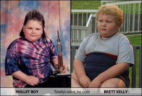 MULLET BOY Totally Looks Like BRETT KELLY