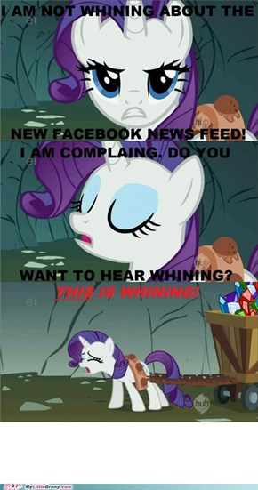 Rarity vs. Facebook Dogs