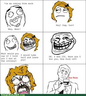 Lottery Trolling