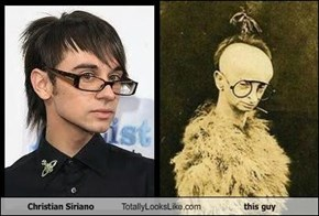 Christian Siriano Totally Looks Like This Guy