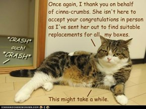 A Further Message from Chairmeow Maru