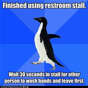 Socially Awkward Penguin: The Waiting Game