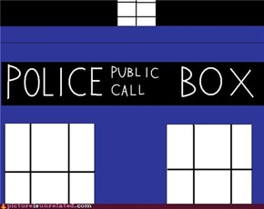 Simple TARDIS Close-Up