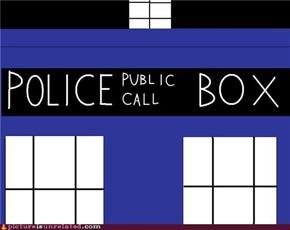 Simple TARDIS Close-Up