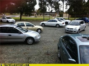 Douche bag Parkers: The Ultimate Showdown