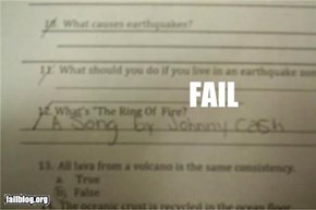 Test Answer Fail