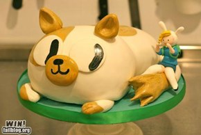 Adventure Time Cake WIN