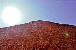 Sun rises above the Pyramids