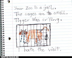 This Is Why You Don't Take A Pessimistic Child To The Zoo
