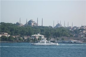 Exotic Istanbul taken from our cruise ship
