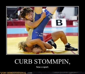 CURB STOMMPIN,