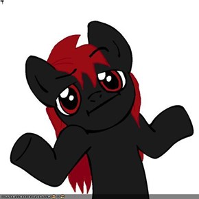 shrug pony-Rune