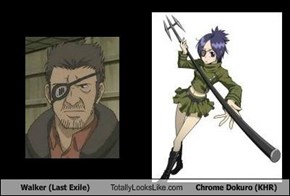 Walker (Last Exile) Totally Looks Like Chrome Dokuro (KHR)