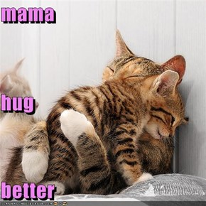 mama hug better