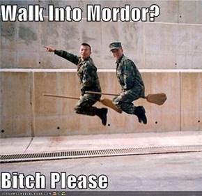 Walk Into Mordor?  Bitch Please