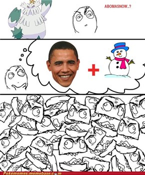 Obama snow