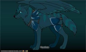 My awesome wolf