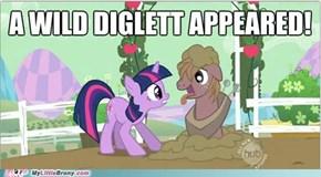 Diglett Used Lick?