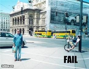 Cyclist Fail