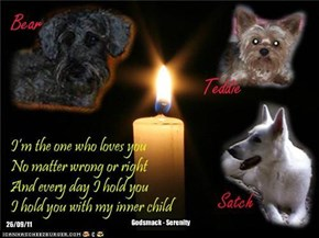 A Monday Night Candle For Our BridgeBabies Who Are In Our Thoughts Every Day, And For Those Still Here Who Deserve To Be