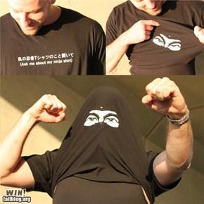 Ninja Shirt WIN