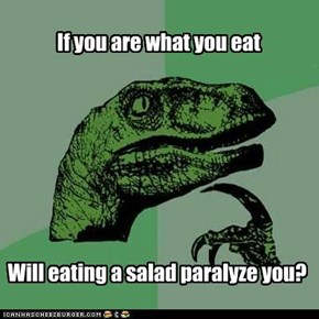 Philosoraptor: Vegetables