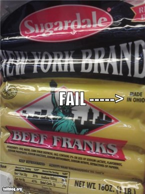 New York Brand FAIL