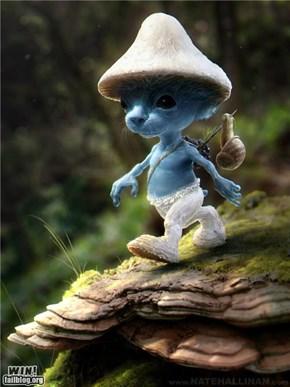 Realistic Smurf WIN!