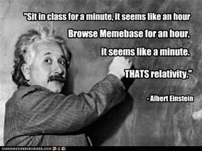 100% Science: Einstein Totally Said This