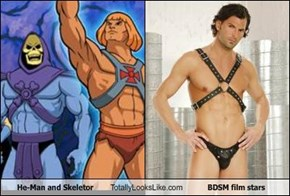 He-Man and Skeletor Totally Looks Like... Ahem....