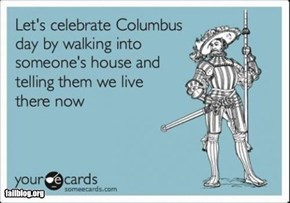 10/12 Is Columbus Day!
