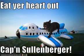 Eat yer heart out  Cap'n Sullenberger!