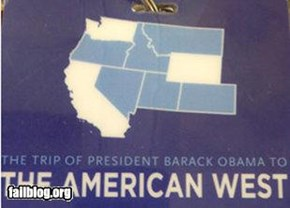 White House Gaffe: That's not Colorado