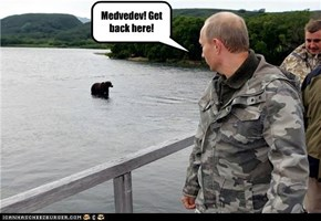 Medvedev! Get back here!