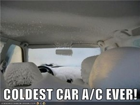 COLDEST CAR A/C EVER!