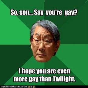 Gay, SO gay.
