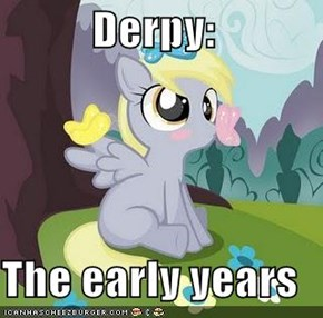 Derpy:  The early years