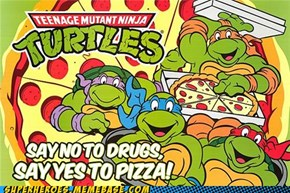 TMNT Wants You to Be a FATTY!