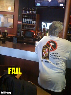 Alcohol Awareness FAIL