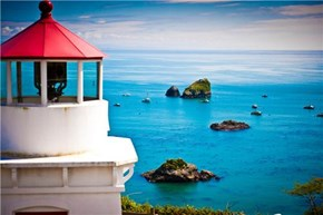 Trinidad Head Lighthouse, Trinidad, California