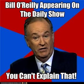 Bill O'Reilly Appearing On The Daily Show