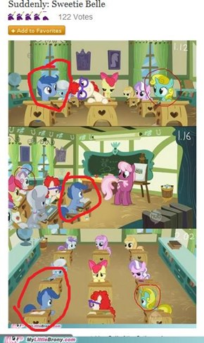 Reframe: Blue Scootaloo Is Hiding in Plain Sight