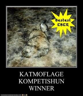 KATMOFLAGE KOMPETISHUN WINNER