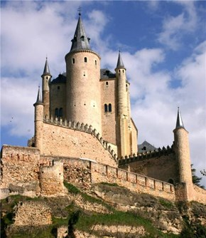 Alcázar of Segovia, Segovia, Castile and León, Spain
