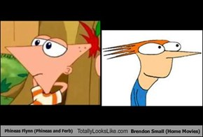 Phineas Flynn (Phineas and Ferb) Totally Looks Like Brendon Small (Home Movies)