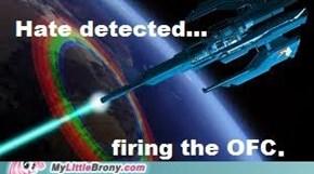 Hate detected...